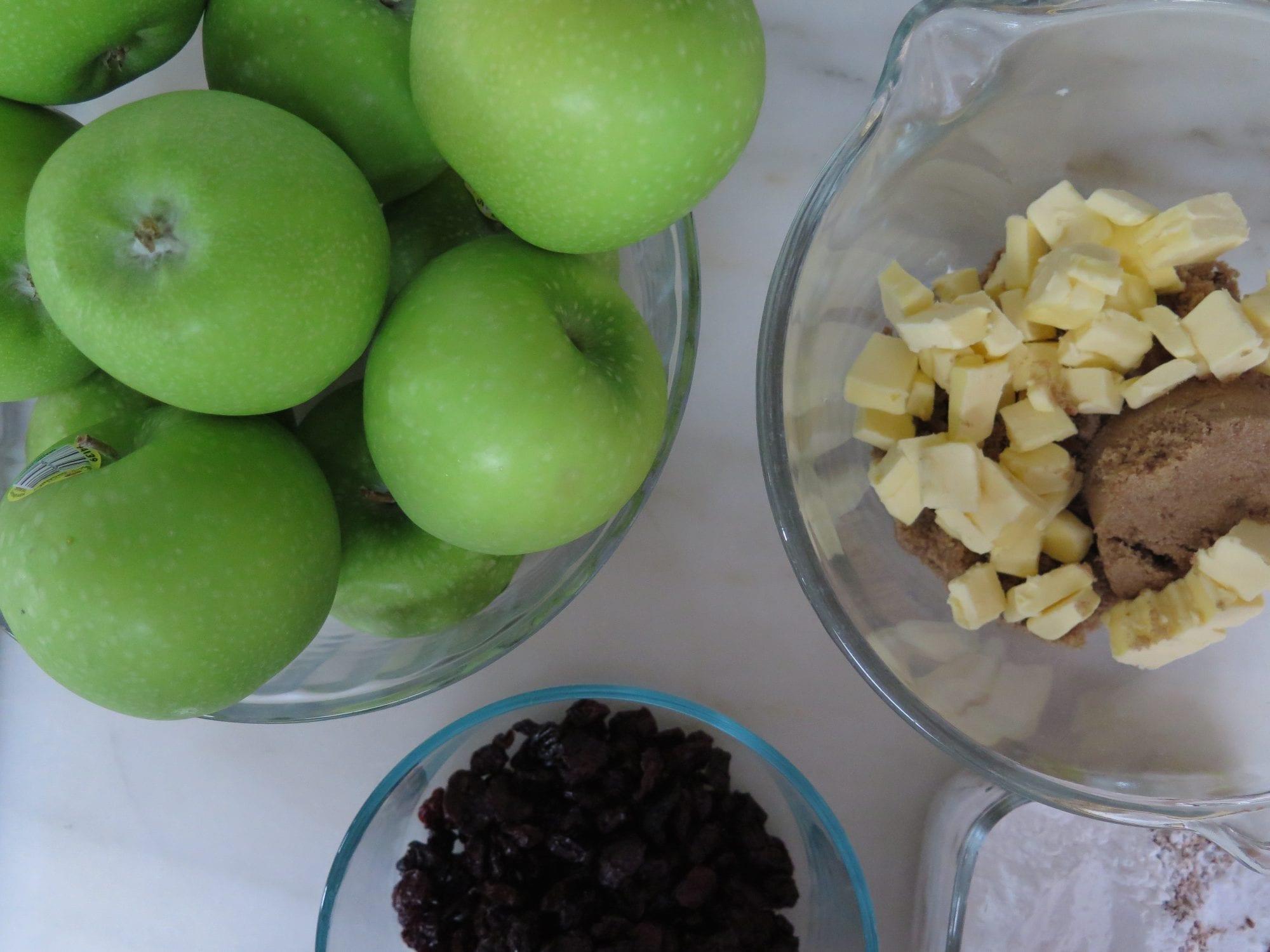 Apples, Cherries and Pie Crumble | Jessie Sheehan Bakes