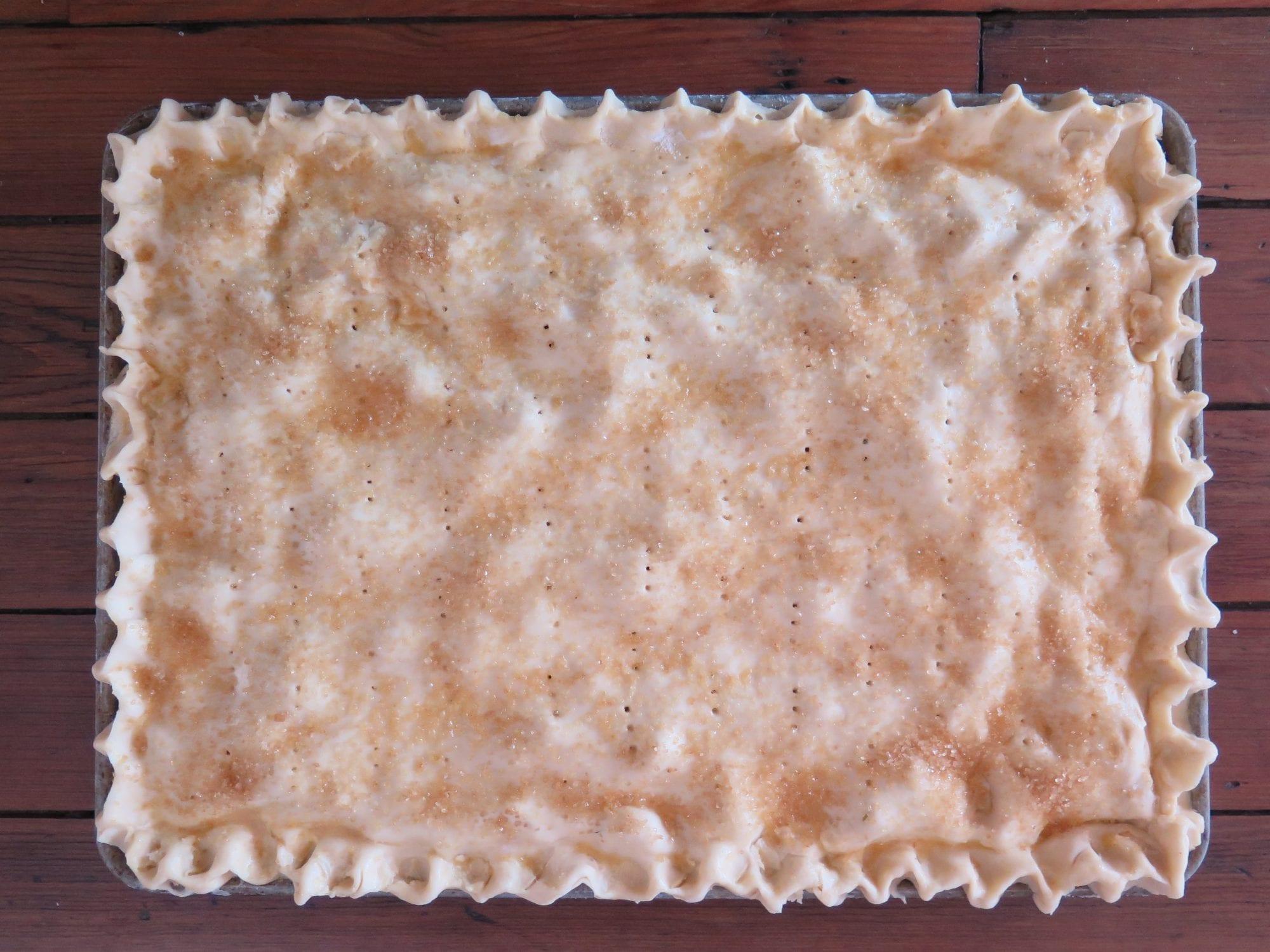 Apple Cherry Slab Pie | Jessie Sheehan Bakes