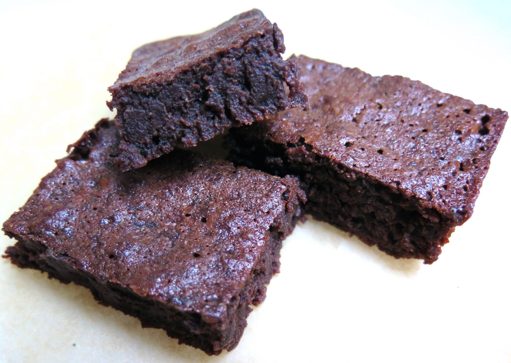 ultimate fudgy/chocolate-y brownies with a touch of black cocoa