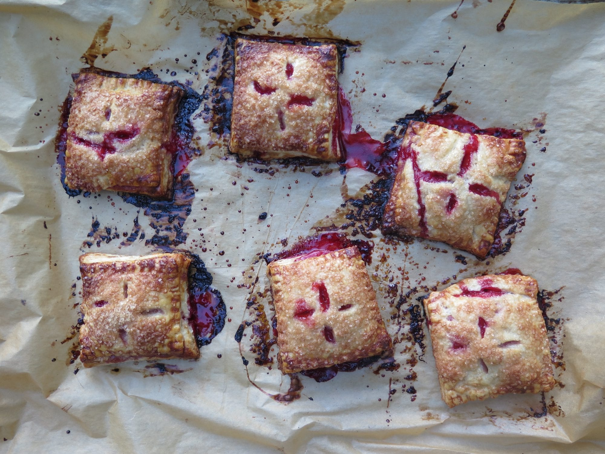 strawberry hand pies (baked)