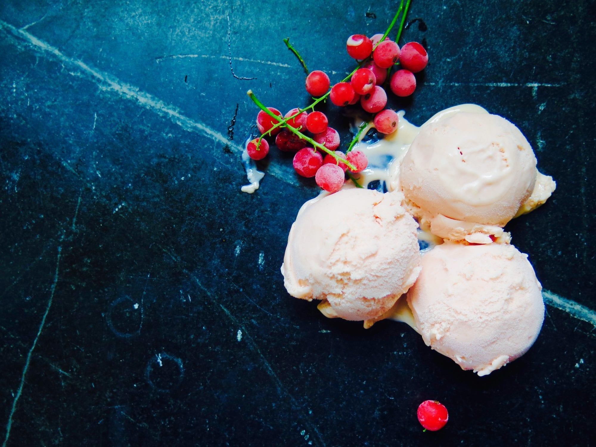 red currant ice cream