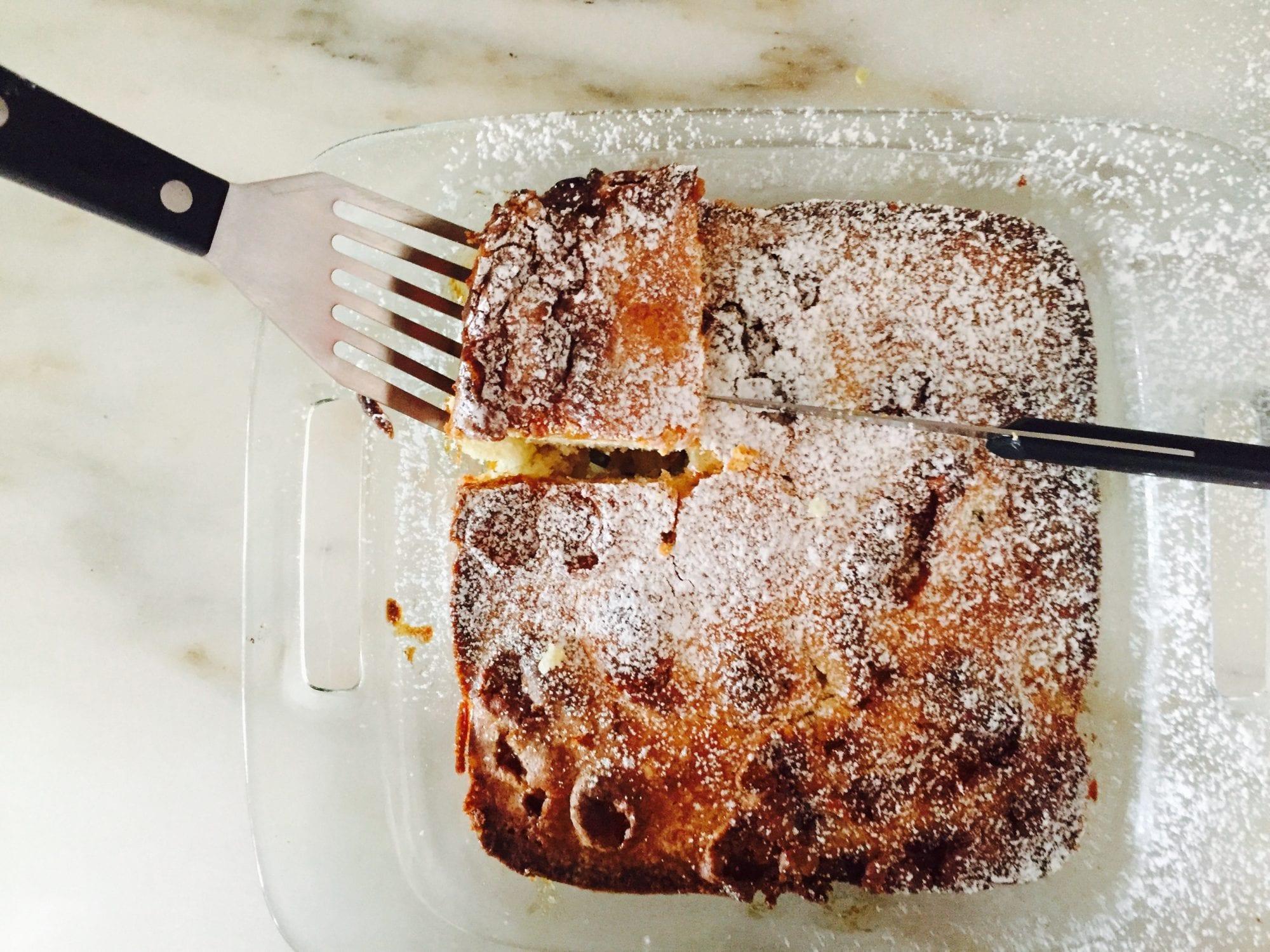 banana marshmallow upside down cake