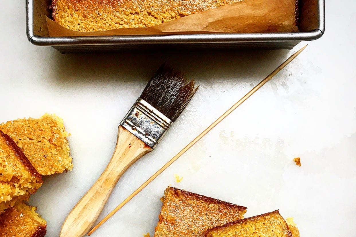Butter-Honey Glazed Cornbread | Jessie Sheehan Bakes