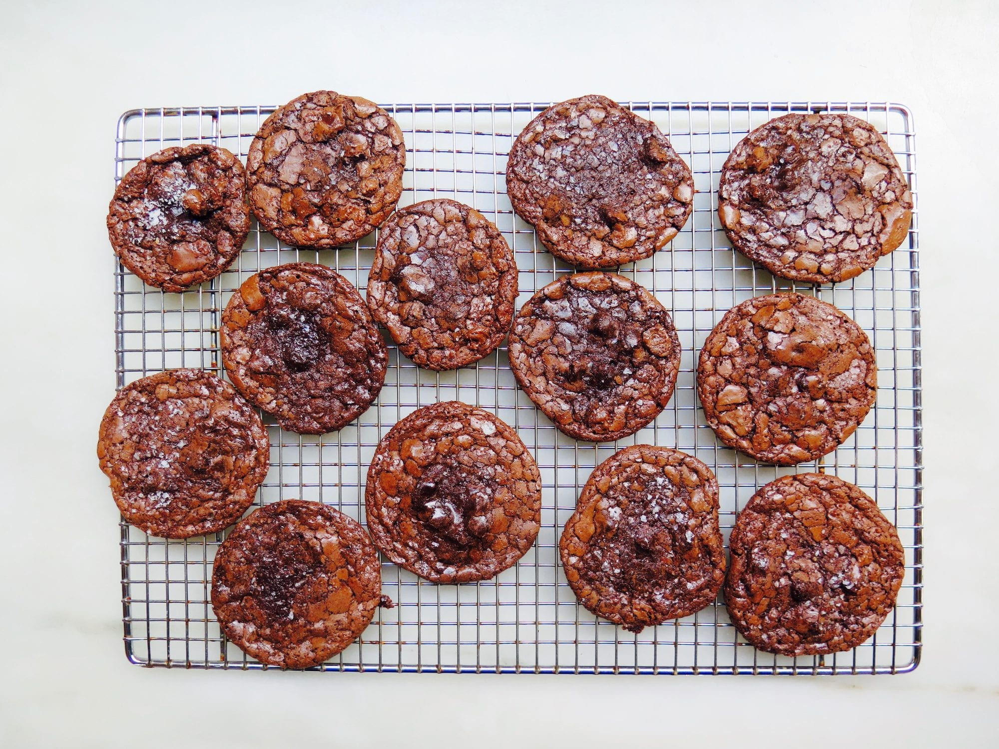 Flourless Chocolate Cookies Recipe | Jessie Sheehan Bakes