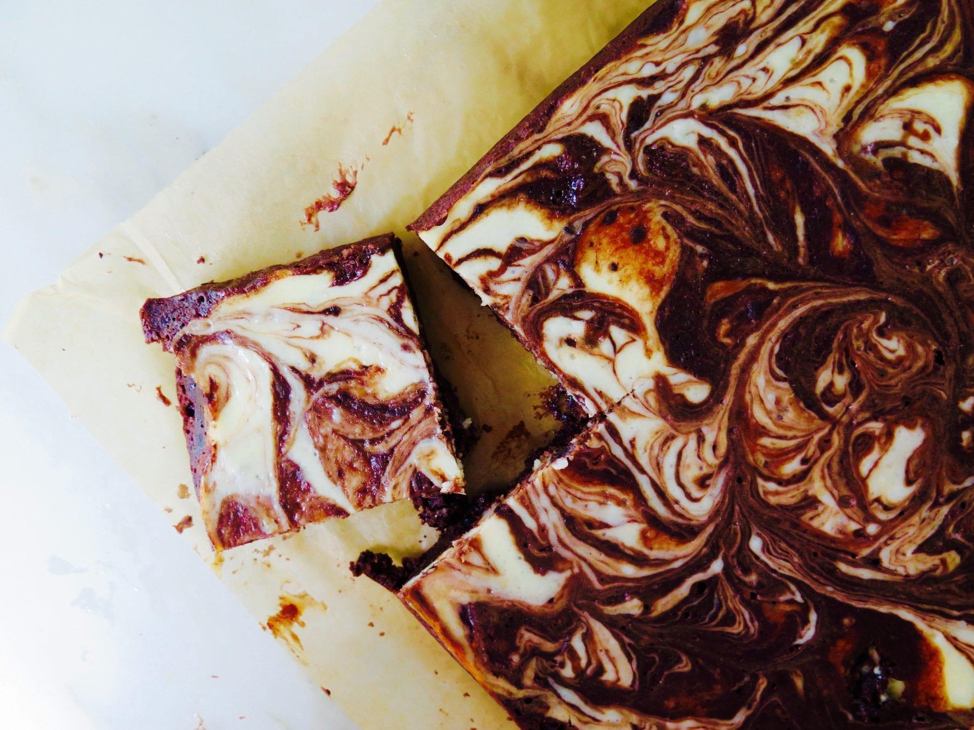 Almond Cheesecake Brownies