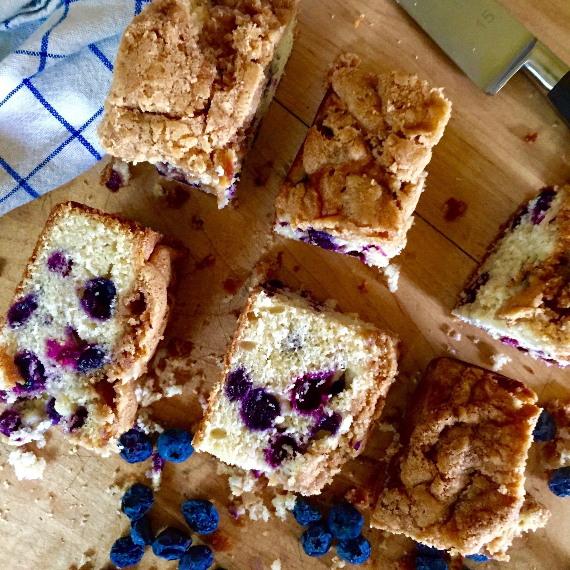 Blueberry Buttermilk Snack Cake – Jessie Sheehan Bakes
