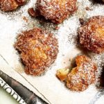 Apple Fritters Dusted with Powdered Sugar | Jessie Sheehan Bakes