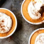 Pumpkin Mousse with Cinnamon Whipped Cream | Jessie Sheehan Bakes