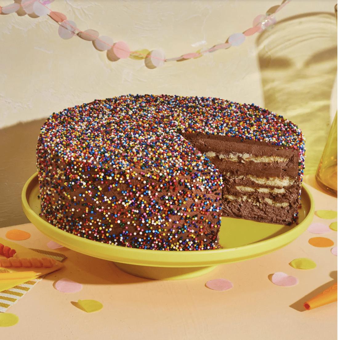 birthday cake icebox cake